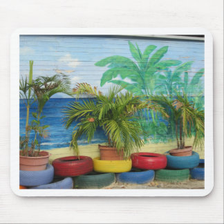 """Wall of Colors """"St. Maarten"""" Mouse Pad"""