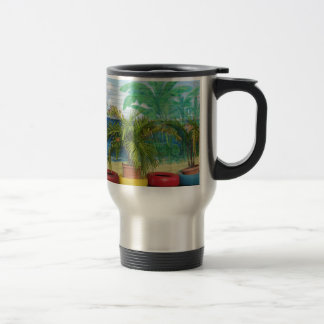 "Wall of Colors ""St. Maarten"" Travel Mug"