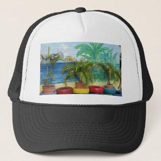 """Wall of Colors """"St. Maarten"""" Trucker Hat"""