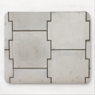 Wall of Concrete Blocks Background Mouse Pad