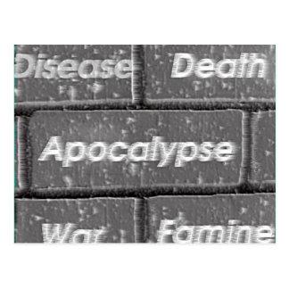 Wall of Doom Postcard