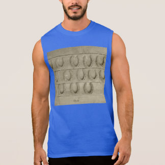 Wall of Horse Shoes Sleeveless Shirt