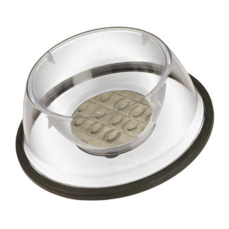 Wall of Horse Shoes Pet Bowl
