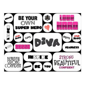 Wall Of Inspiration Postcard