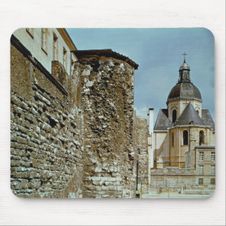 Wall of Philippe Auguste  rue des Jardins Mouse Pad