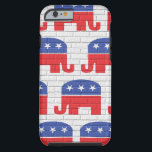 "Wall of Republican Elephants Tough iPhone 6 Case<br><div class=""desc"">Wall of Republican Elephants</div>"