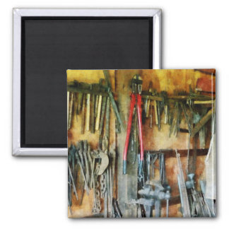 Wall of Tools and Shop Apron Magnet