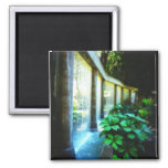 Wall of Water in Garden Paradise Refrigerator Magnet