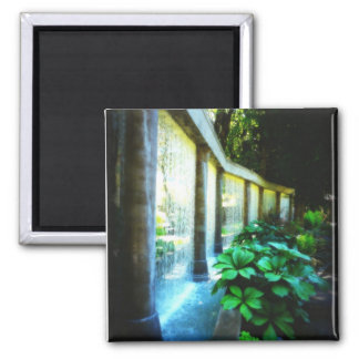 Wall of Water in Garden Paradise Magnet