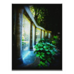 Wall of Water in Garden Paradise Posters