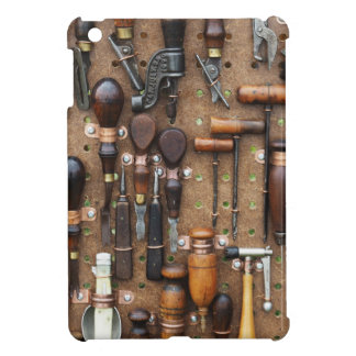 Wall of Work Tools - Industrial Print Cover For The iPad Mini