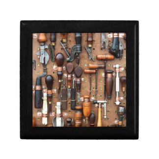 Wall of Work Tools - Industrial Print Gift Box