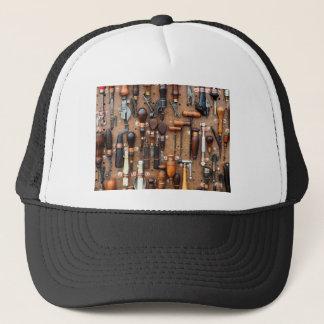 Wall of Work Tools - Industrial Print Trucker Hat