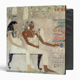Wall painting from the tomb of Rekhmire, Thebes, d Binder