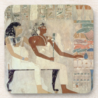 Wall painting from the tomb of Rekhmire Thebes d Beverage Coasters