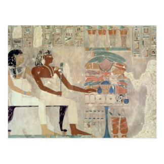 Wall painting from the tomb of Rekhmire, Thebes, d Postcards