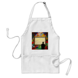 Wall Painting Gallery apron