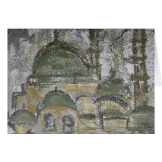 Wall Painting - Istanbul Card