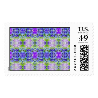 Wall Paper Postage Stamp