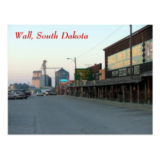 Wall Postcard