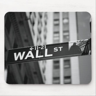 Wall s$street mouse pad