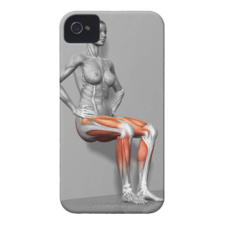 Wall Sit iPhone 4 Covers