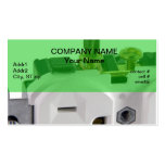 wall socket business card