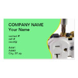 wall socket business cards