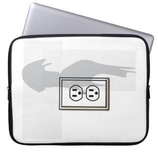 Wall socket sleeve! laptop sleeves