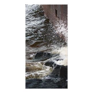 Wall Splash Custom Photo Card