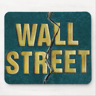 WALL ST MOUSE PAD