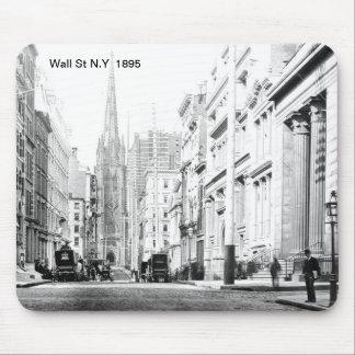 Wall St N.Y  Mousepad