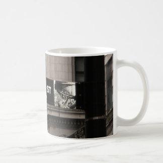 Wall St New York Coffee Mug