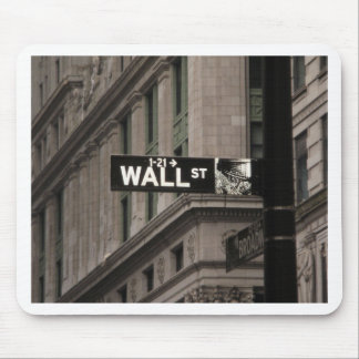 Wall St New York Mouse Pad