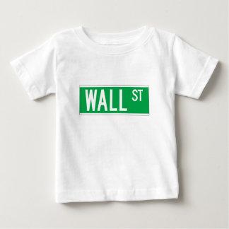 Wall St., New York Street Sign T-shirt