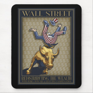 Wall St. Redistribution Mouse Pad