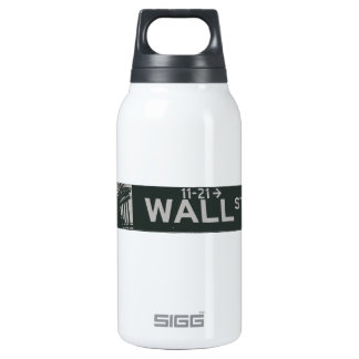 wall street3.ai insulated water bottle