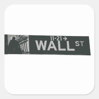 wall street3.ai square sticker