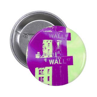 Wall Street - ウォール街 - mercado de acción Pins