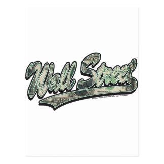Wall Street - 1000 Dollar Bill Postcard