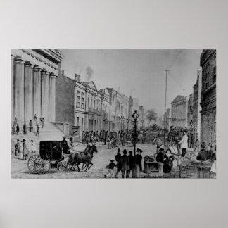 Wall Street 1867 Poster