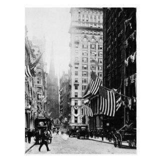 Wall Street 1900 Postcard