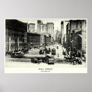 Wall Street 1900 Póster