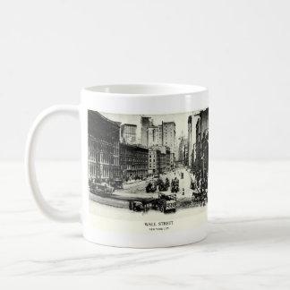 Wall Street 1900 Taza Básica Blanca