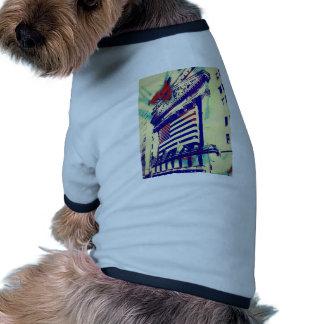 Wall Street Art Dog Tshirt