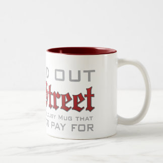 Wall Street Bail Out Mug