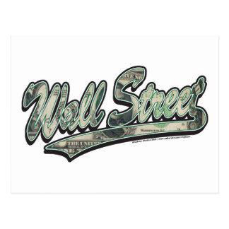 Wall Street Baseball Script, High Finance Postcard