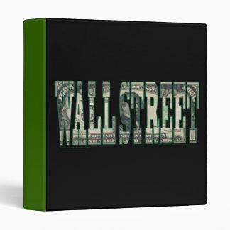 Wall Street Binder