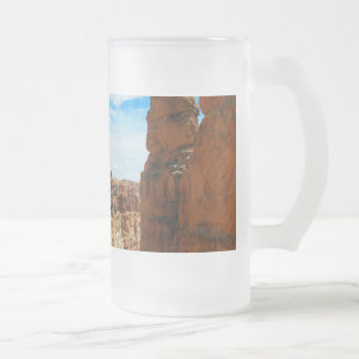 Wall street  Bryce Canyon National Park in Utah Frosted Glass Beer Mug