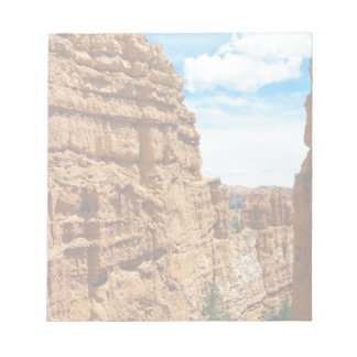 Wall street  Bryce Canyon National Park in Utah Notepad